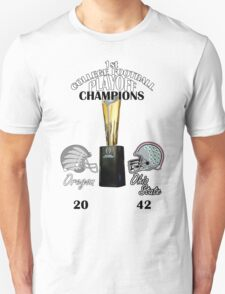 1st College Football Playoff Champions T-Shirt