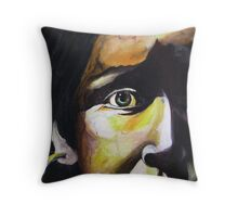 Indian Girl Throw Pillow