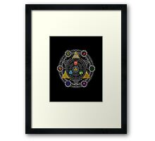 Triforce Ultimate Framed Print