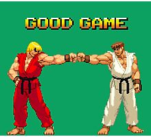 STREET FIGHTER - RYU & KEN Photographic Print