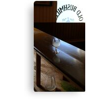 Pub with no beer Canvas Print