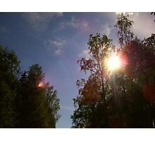 Glorious sky Photographic Print
