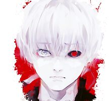 Tokyo Ghoul - Ken Kaneki (Ed Card)  by Onimihawk