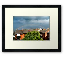 Two Pots of Gold? Framed Print