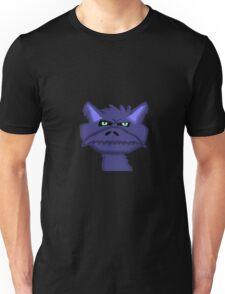 Blue Dragon Head  Unisex T-Shirt
