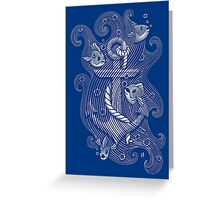 Lost Anchor Greeting Card