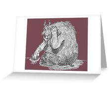 Bear from the Wilds Greeting Card
