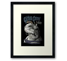 Sewer Lords - Gator Goon Framed Print