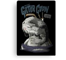 Sewer Lords - Gator Goon Canvas Print