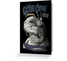 Sewer Lords - Gator Goon Greeting Card