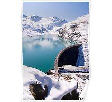 Alpine Reservoir Poster