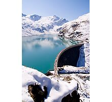 Alpine Reservoir Photographic Print