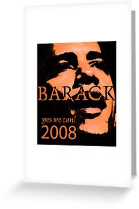 Barack Obama Yes We Can Slogan by Zehda