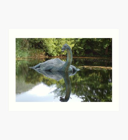 Is this really Nessy ????? Art Print
