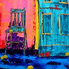 Lesvos door by Maria Norris