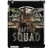 Raptor Squad iPad Case/Skin