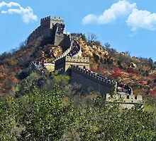 万里长城 GREAT WALL OF CHINA 万里长城  PICTURE-CARD-PILLOW-TOTE BAG, by ✿✿ Bonita ✿✿ ђєℓℓσ