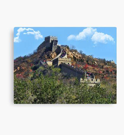 万里长城 GREAT WALL OF CHINA 万里长城  VARIOUS APPAREL Canvas Print