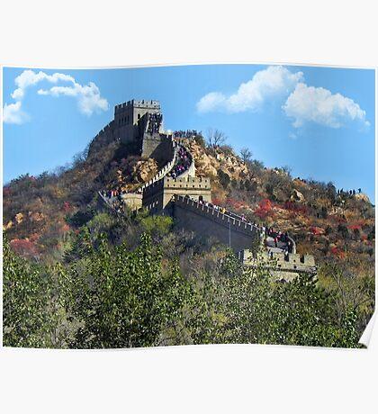 万里长城 GREAT WALL OF CHINA 万里长城  VARIOUS APPAREL Poster