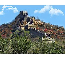 万里长城 GREAT WALL OF CHINA 万里长城  VARIOUS APPAREL Photographic Print