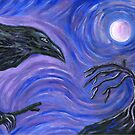 The Raven by Roz Abellera Art Gallery