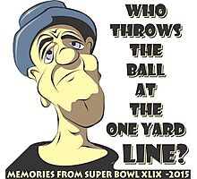 Who Throws The Ball At The One Yard Line? Photographic Print