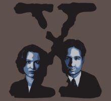 X-FILES - Scully & Mulder by Théo Proupain