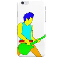 Rock Guitarist iPhone Case/Skin
