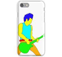 Rock Guitarist iPhone Case/Skin