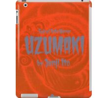 SPIRAL INTO HORROR iPad Case/Skin