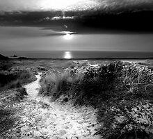 St Ouen Sand Dunes by Mark Bowden