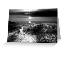 St Ouen Sand Dunes Greeting Card