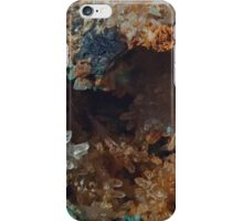 Chalcopyrite on Galena with Anglesite and Cerrusite iPhone Case/Skin
