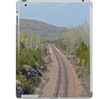Railroad Tracks to Ironton iPad Case/Skin