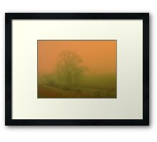 being a part of.... Framed Print
