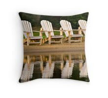 Morning Wait Throw Pillow