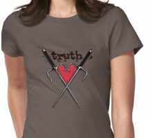 C r o s s M y H e a r t  Womens Fitted T-Shirt