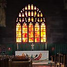 Manchester Catheral Staine Glass Winow by Rob Davies