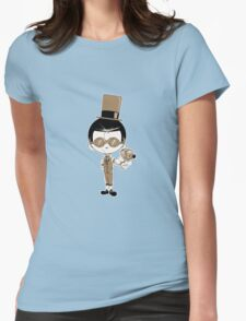 Little Inventor #2 Womens Fitted T-Shirt