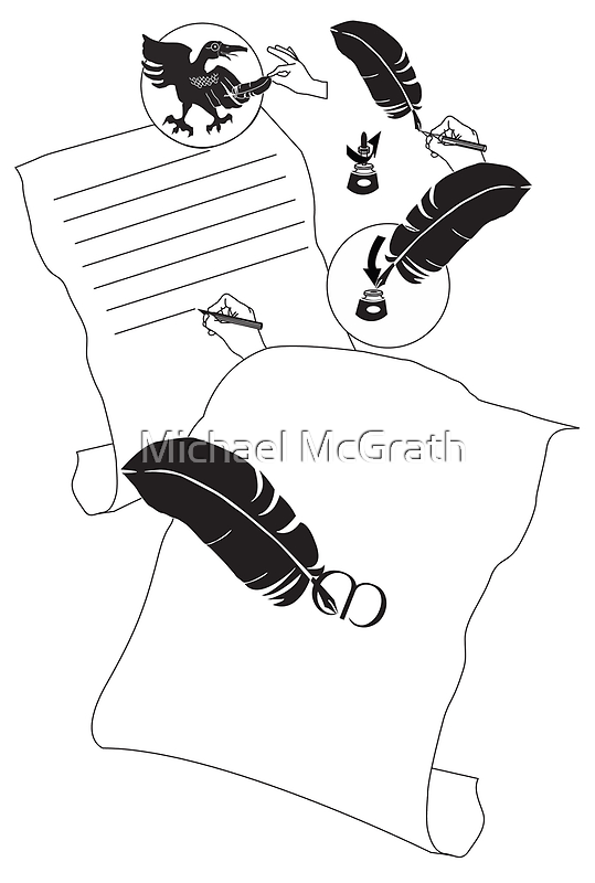 How to Use a Crow Quill by Michael McGrath