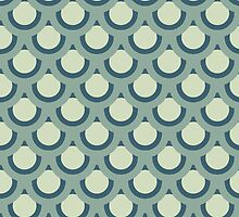 Neutral Blue -Large Circle by JNathan