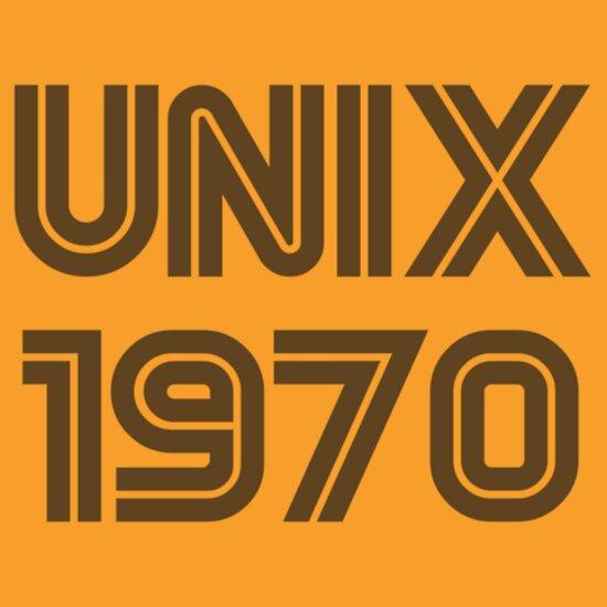 Unix 1970 T Shirts Amp Hoodies By Mont42