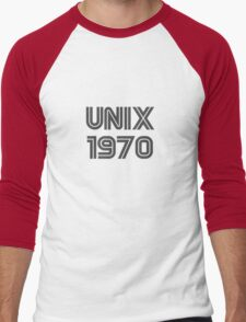 Unix 1970 Men's Baseball ¾ T-Shirt