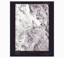 Maine USGS Historical Map Bingham SW 806520 1975 24000 Inversion One Piece - Long Sleeve