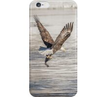 American Bald Eagle With A Fish 4 iPhone Case/Skin