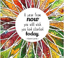 Happy Quote Calendar by mishyrowan