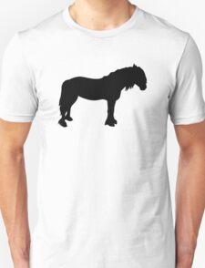 Friesian horse Unisex T-Shirt