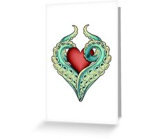 Tentacle Love Greeting Card