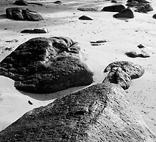 Rocks and Sand by Jeff Harris