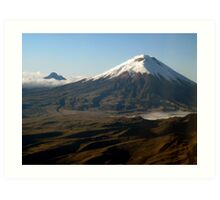 Cotopaxi from the Air Art Print